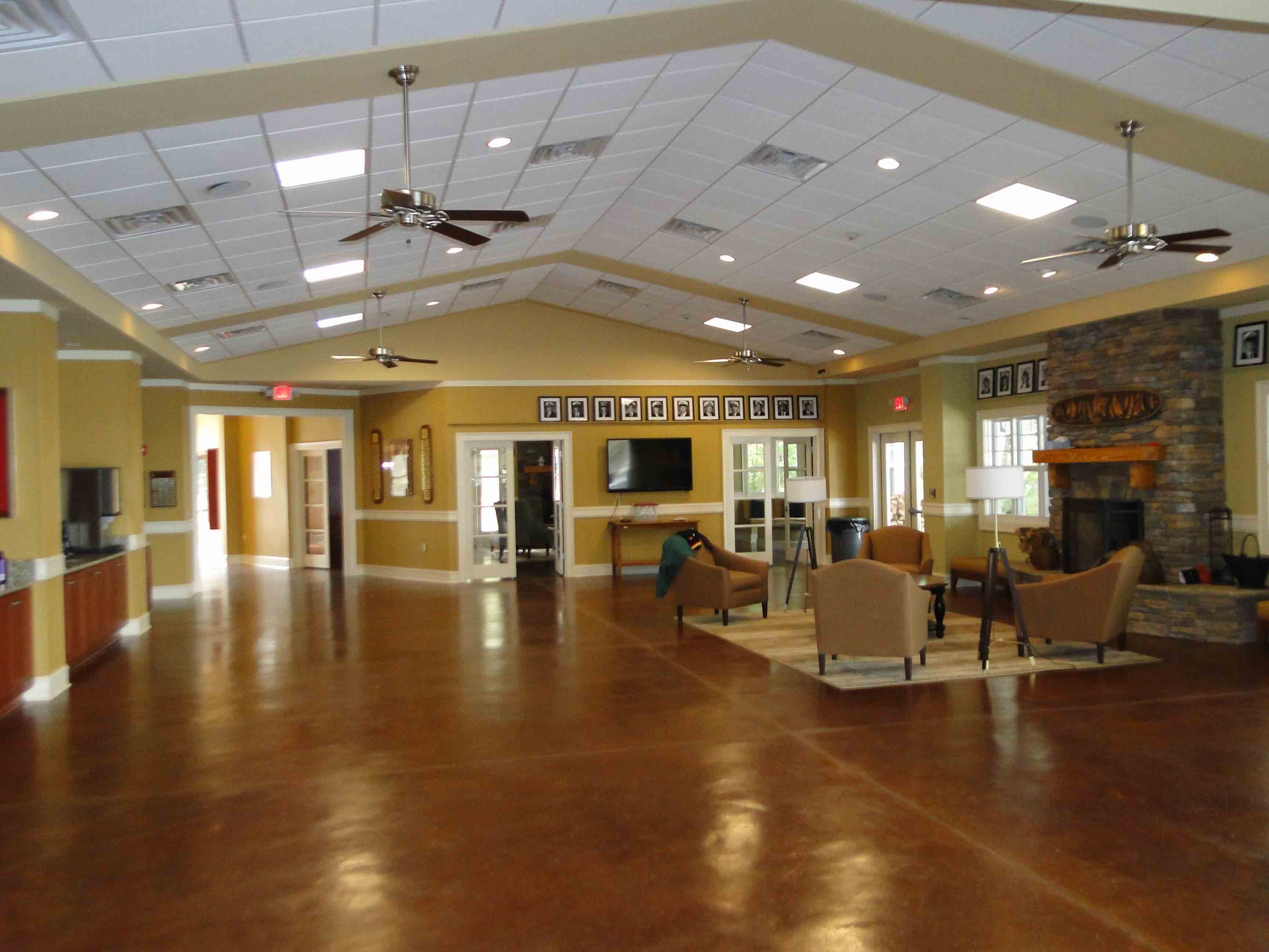 New Clubhouse Dining Room