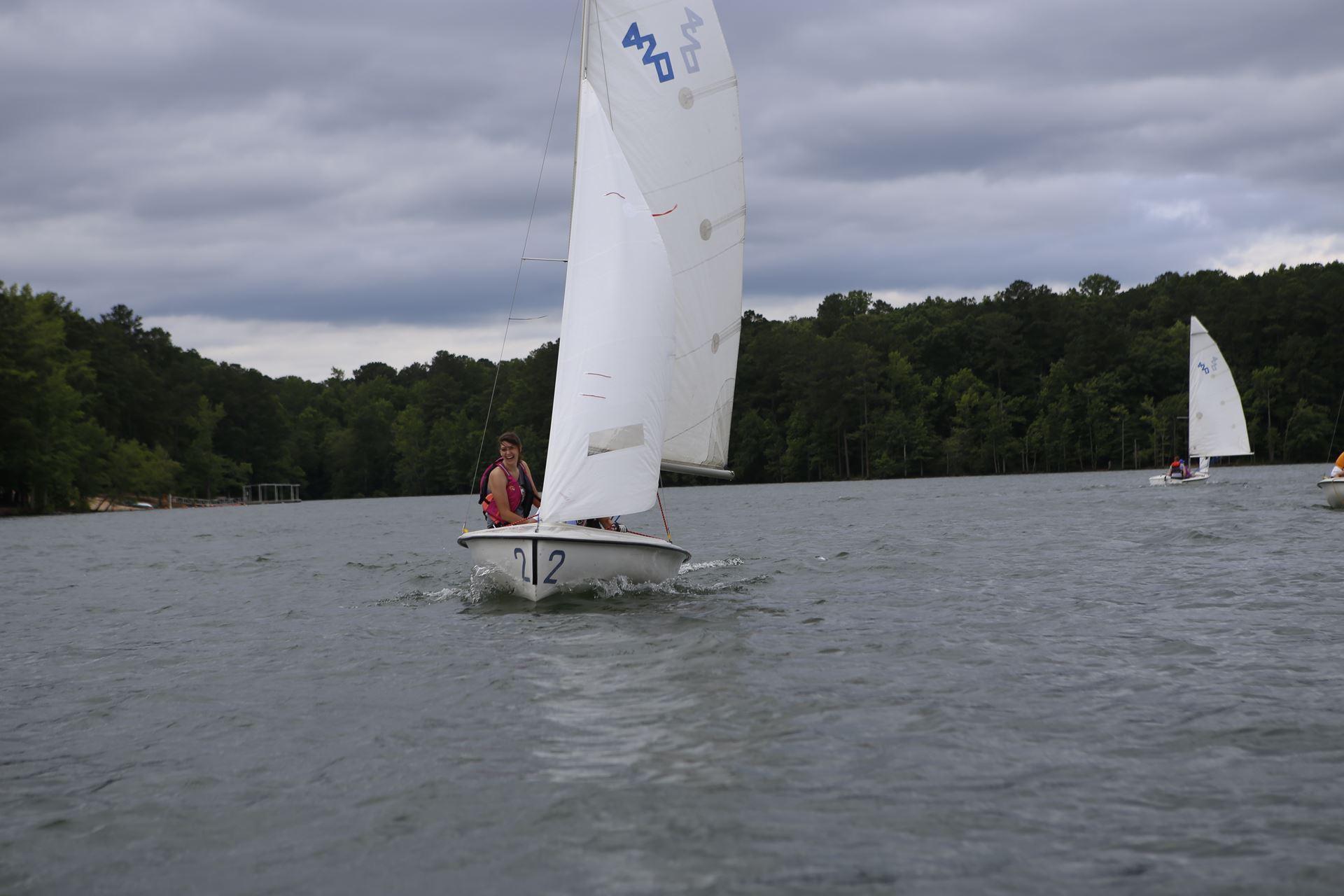Sailing lessons lake allatoona